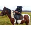 Седло троеборное с внешними упорами купить в интернет магазине конной амуниции